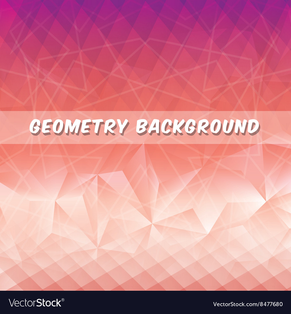 Geometry multicolored background design