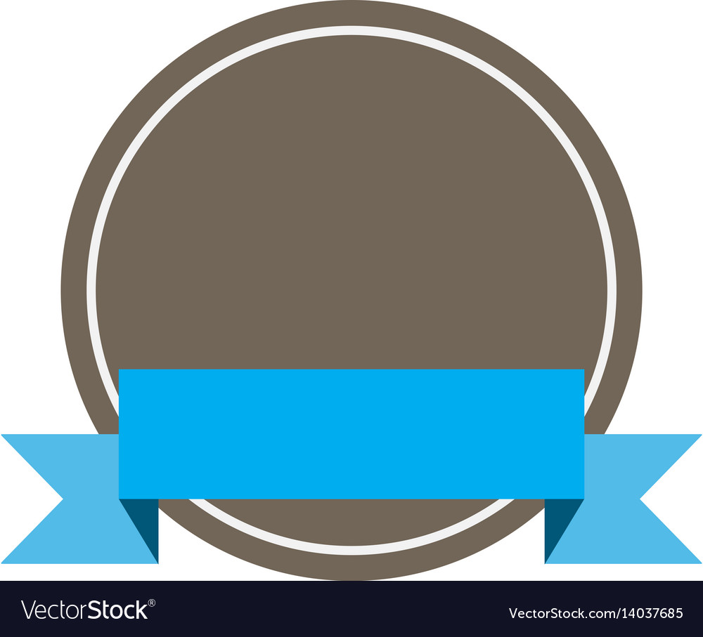Flat design of banners and labels on white vector image