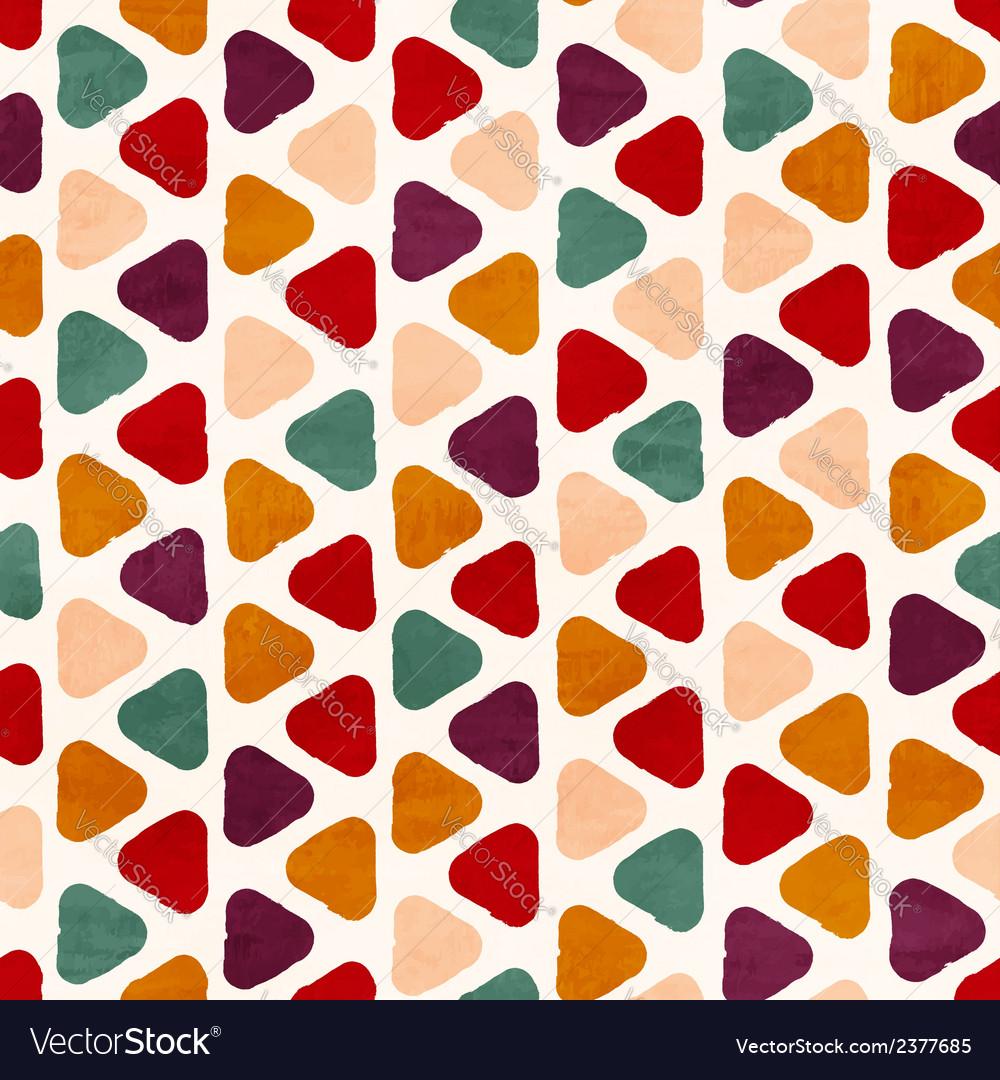 Funky retro seamless pattern
