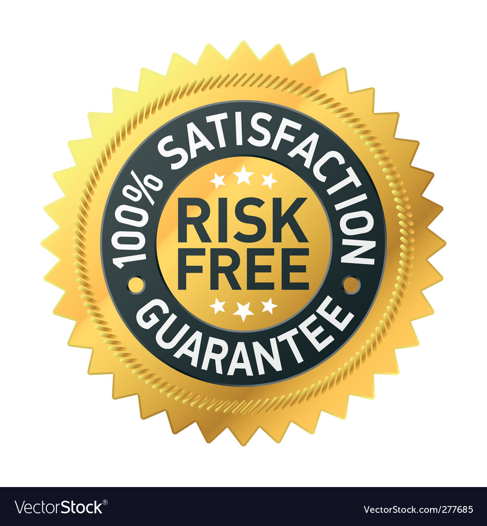 Risk-free guarantee label