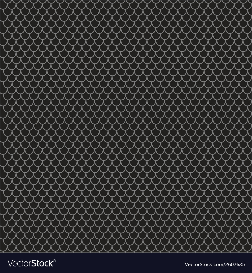 Scallop pattern vector image