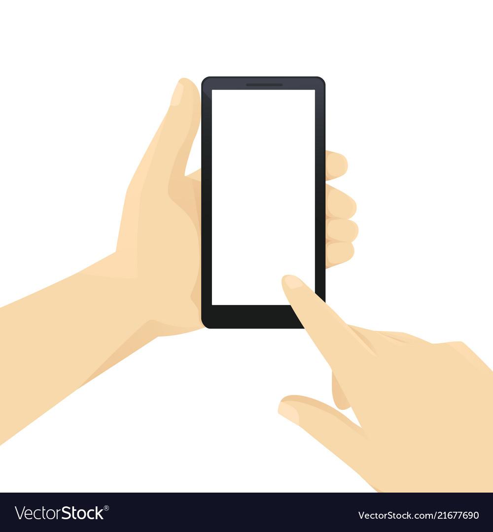 Hand witn phone