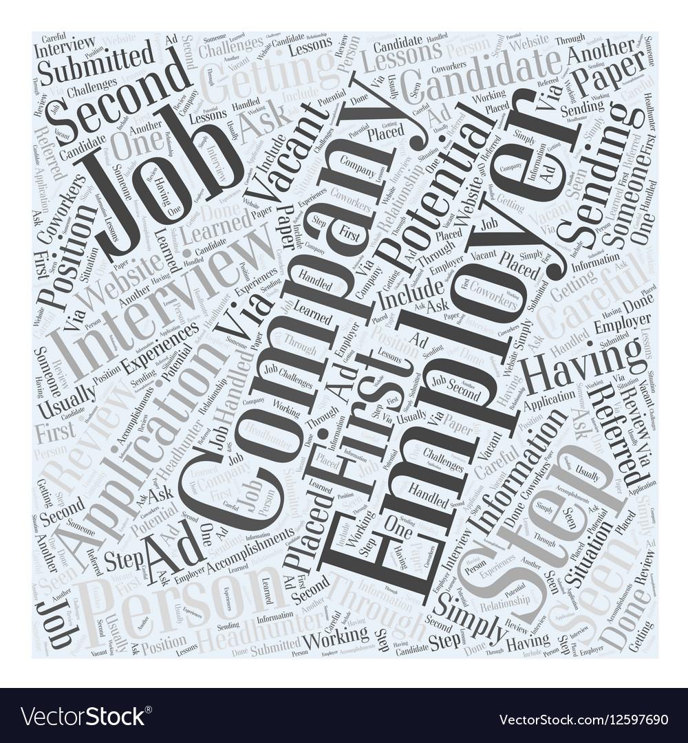 Job interview faqs dlvy nicheblowercom Word Cloud
