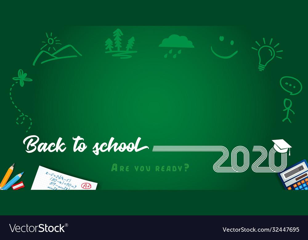 2020 back to school lines design