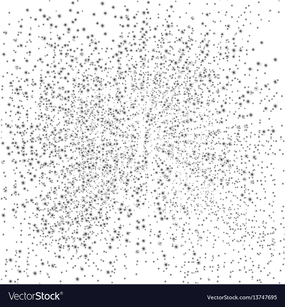 Dotted splat background vector image