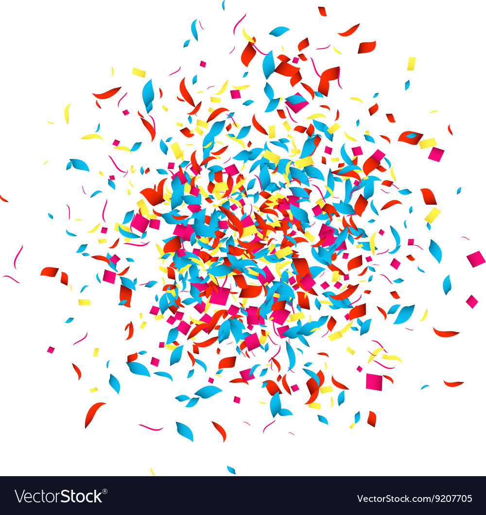 Confetti background for holidays party