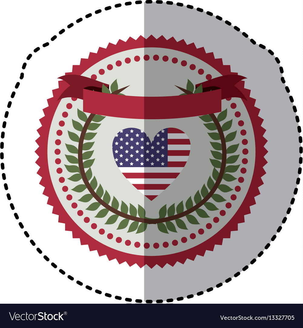 Symbol american seal sign icon