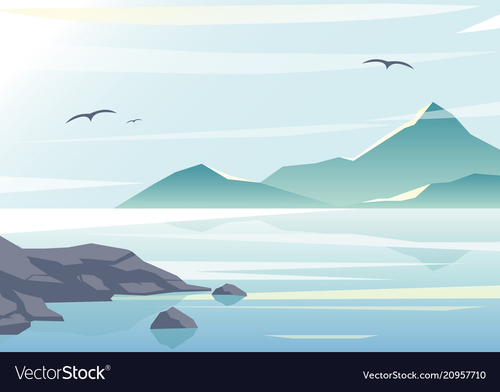 Beautiful sea view water