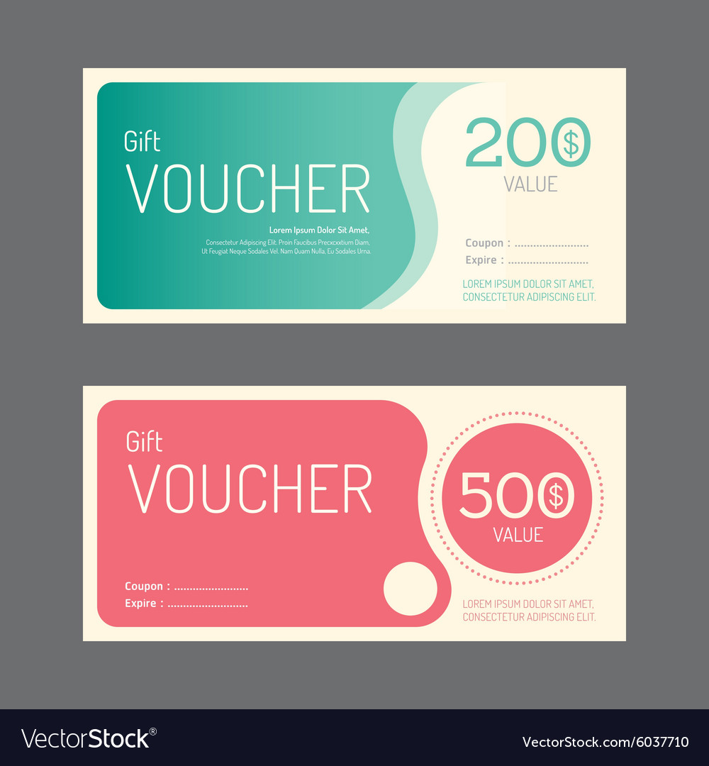 gift coupon templates
