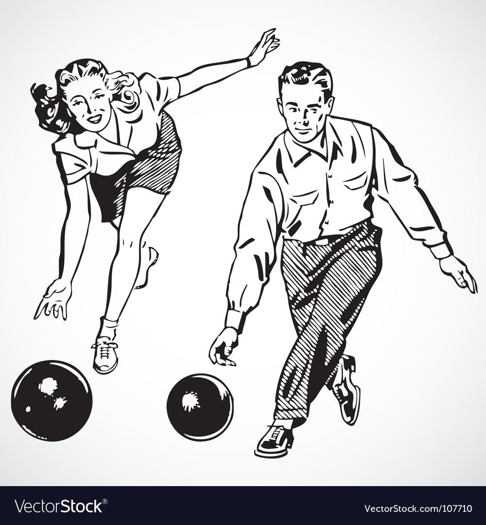 Retro bowling