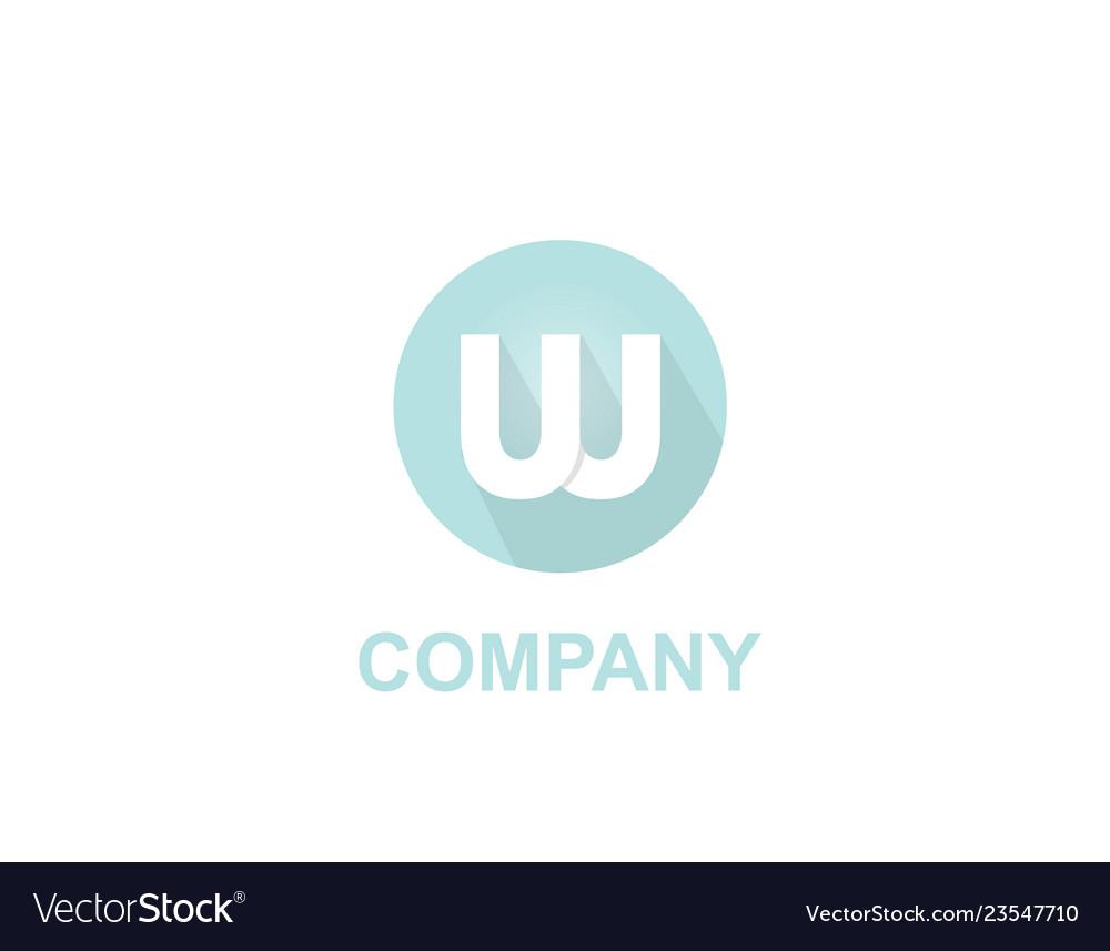 W letter app logo
