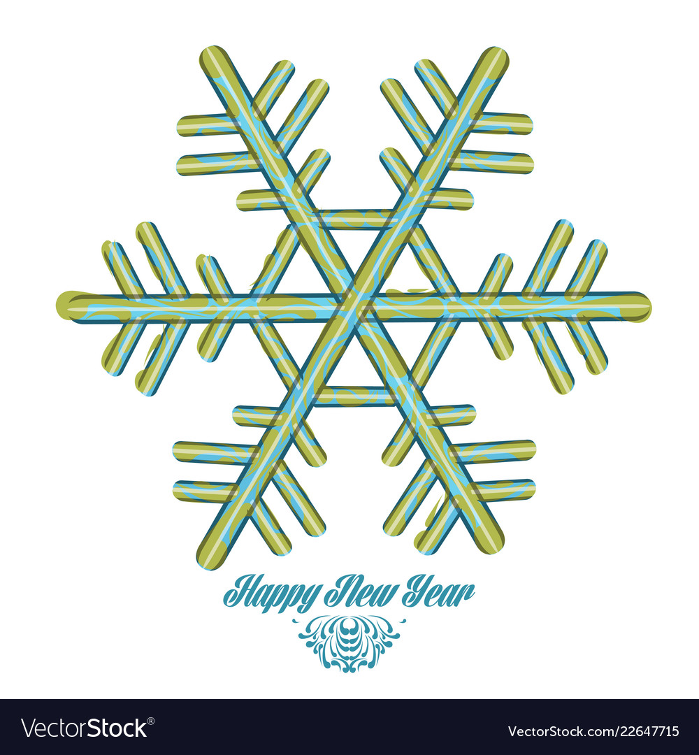 Happy new year graphic design