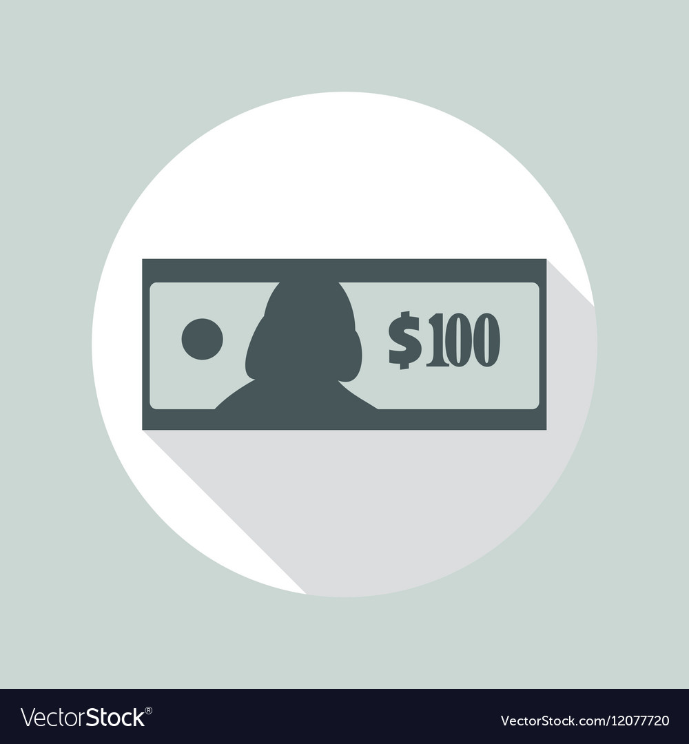 100 Dollars Banknote Icon