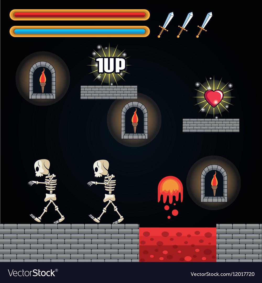 Skull and videogame design