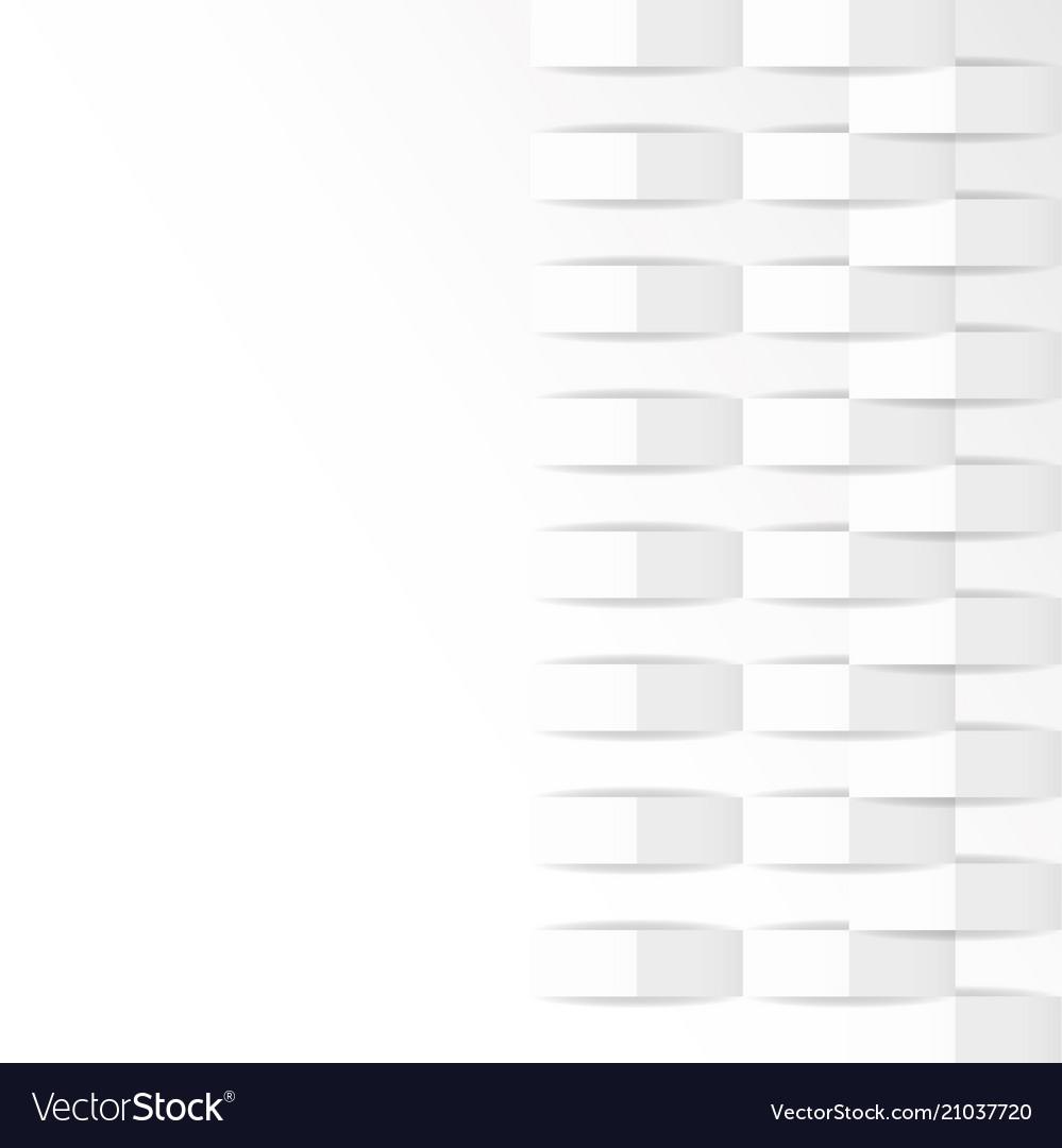 White geometric texture background