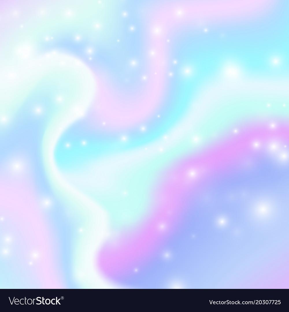 Magic background with rainbow mesh