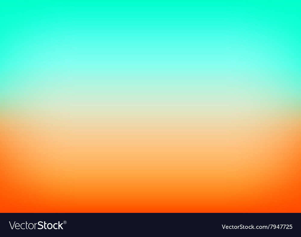 Orange blue gradient background royalty free vector image orange blue gradient background vector image altavistaventures Images