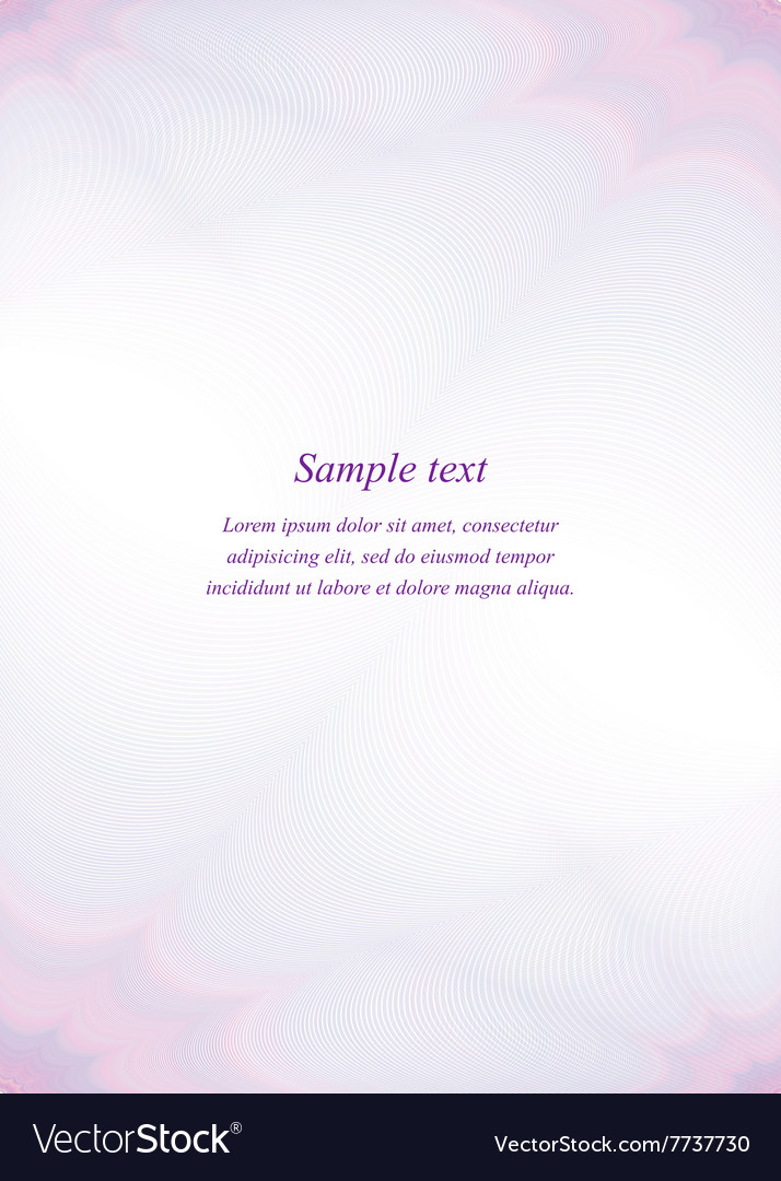 Purple page template design