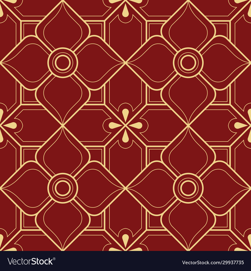 Abstract line thai geometric pattern