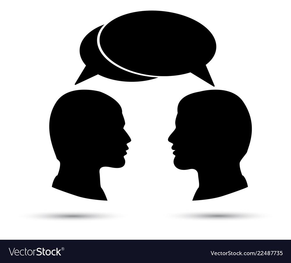 Conversation between two men