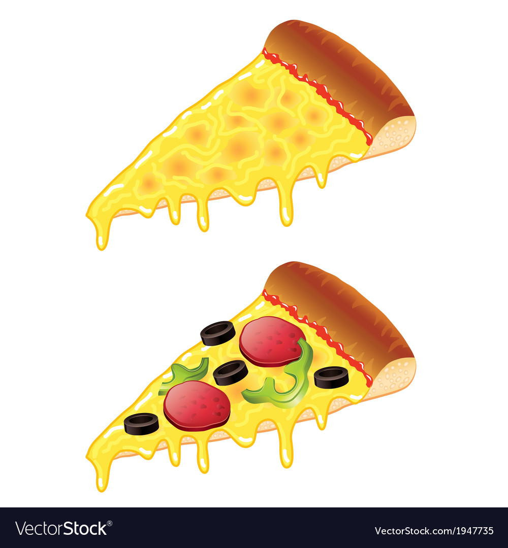 Object slice of pizza