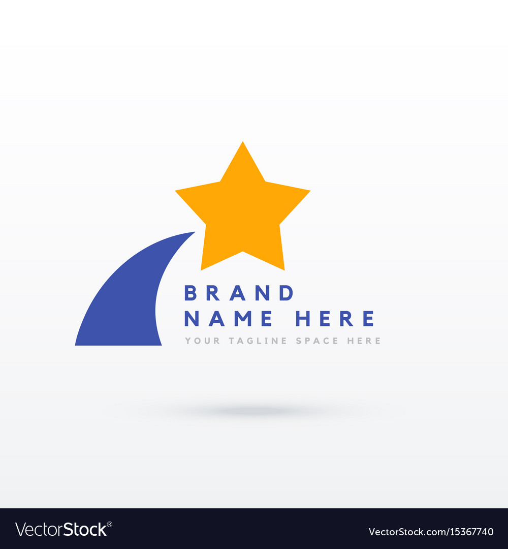 Star logo design for your brand