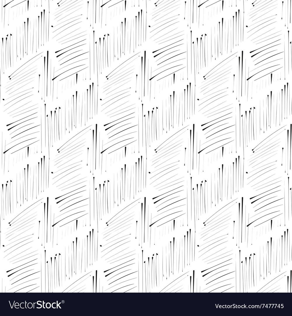 Hatch ink imitation seamless pattern