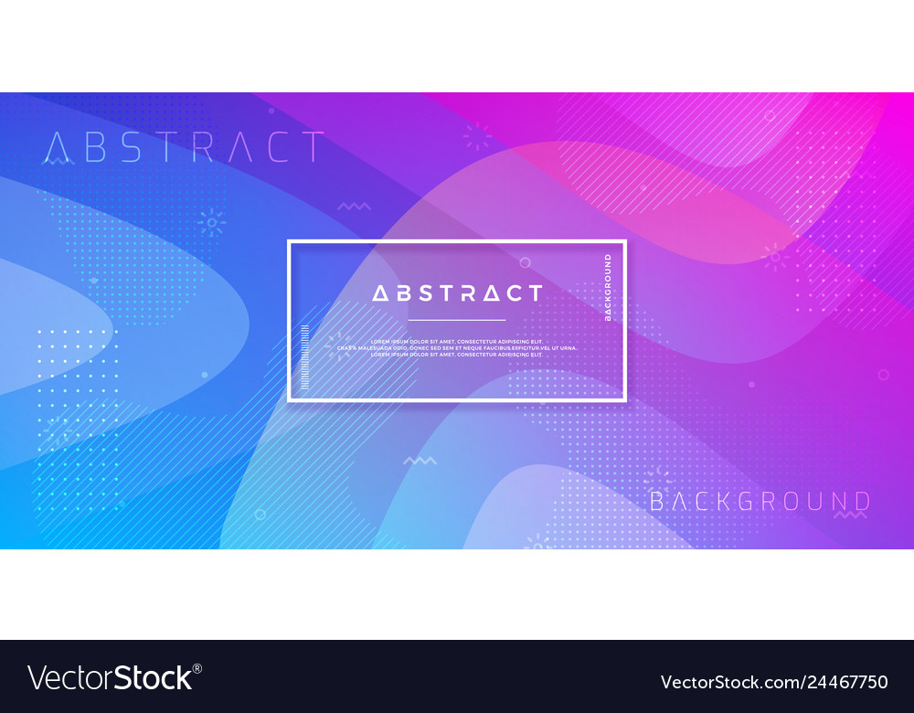 Abstract dynamic trendy gradient background