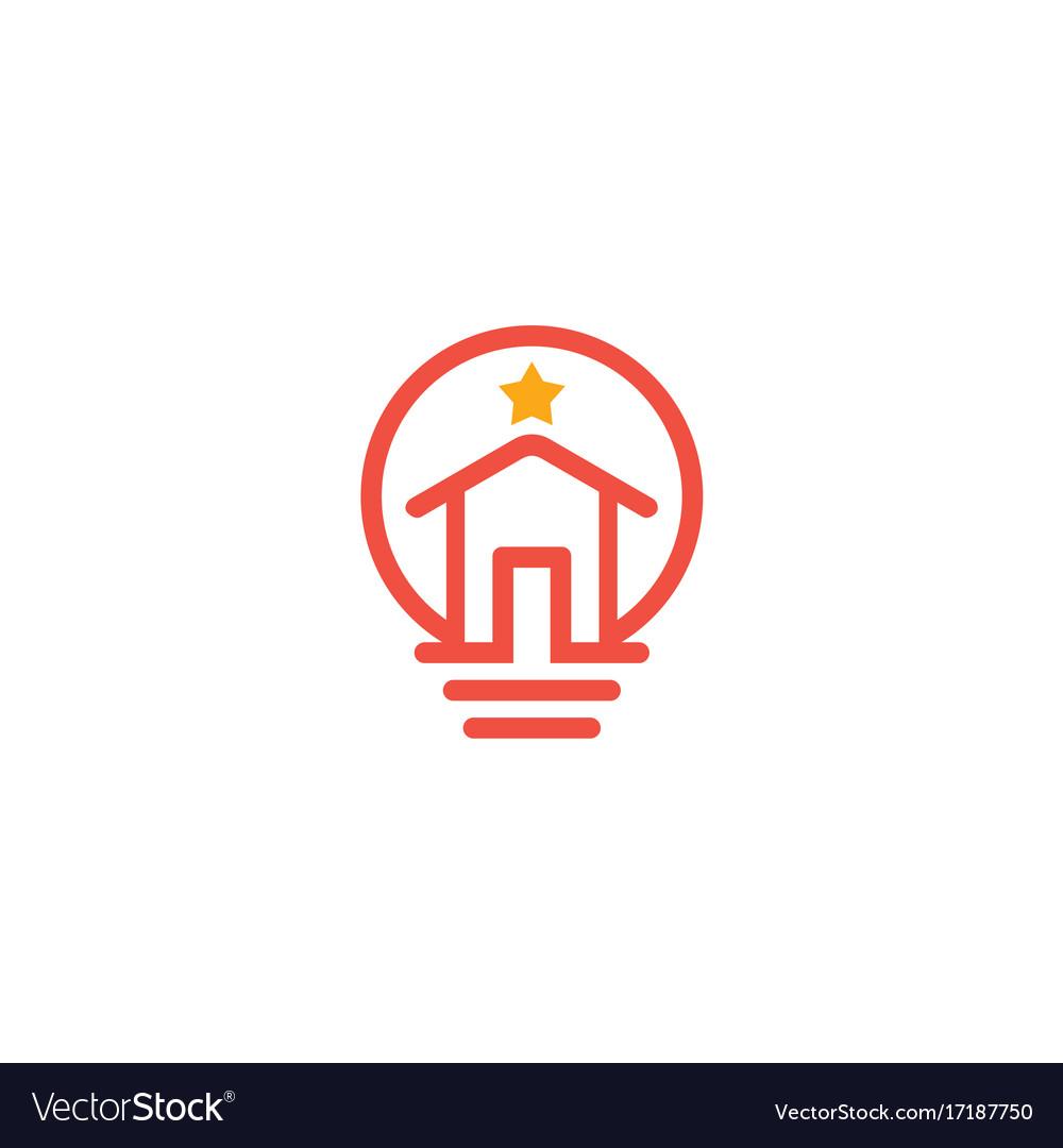 Home idea star logo