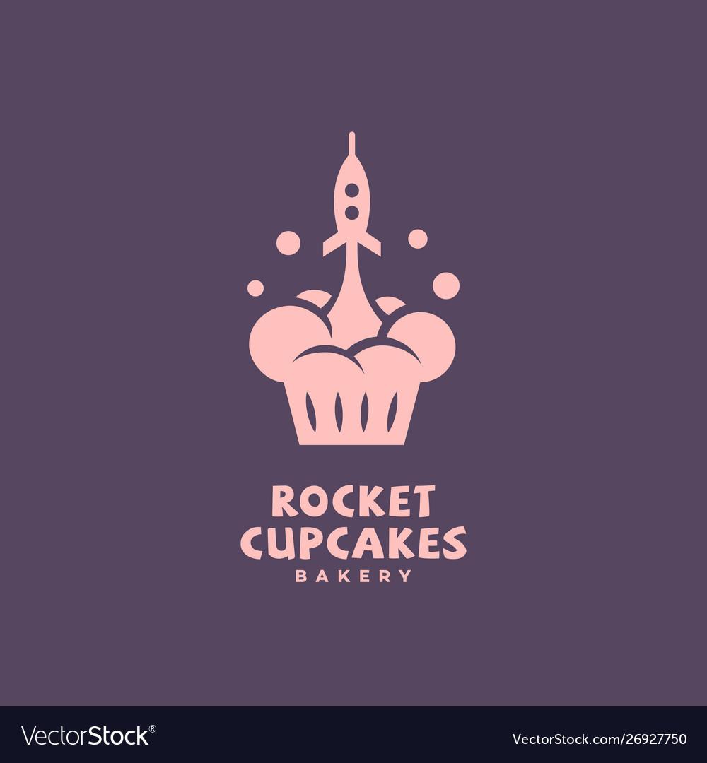 Rocket cupcakes logo