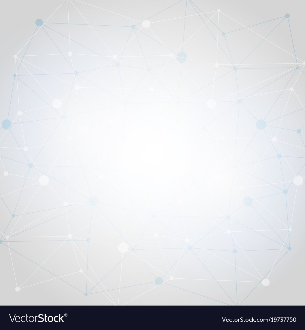 White abstract polygonal space low poly
