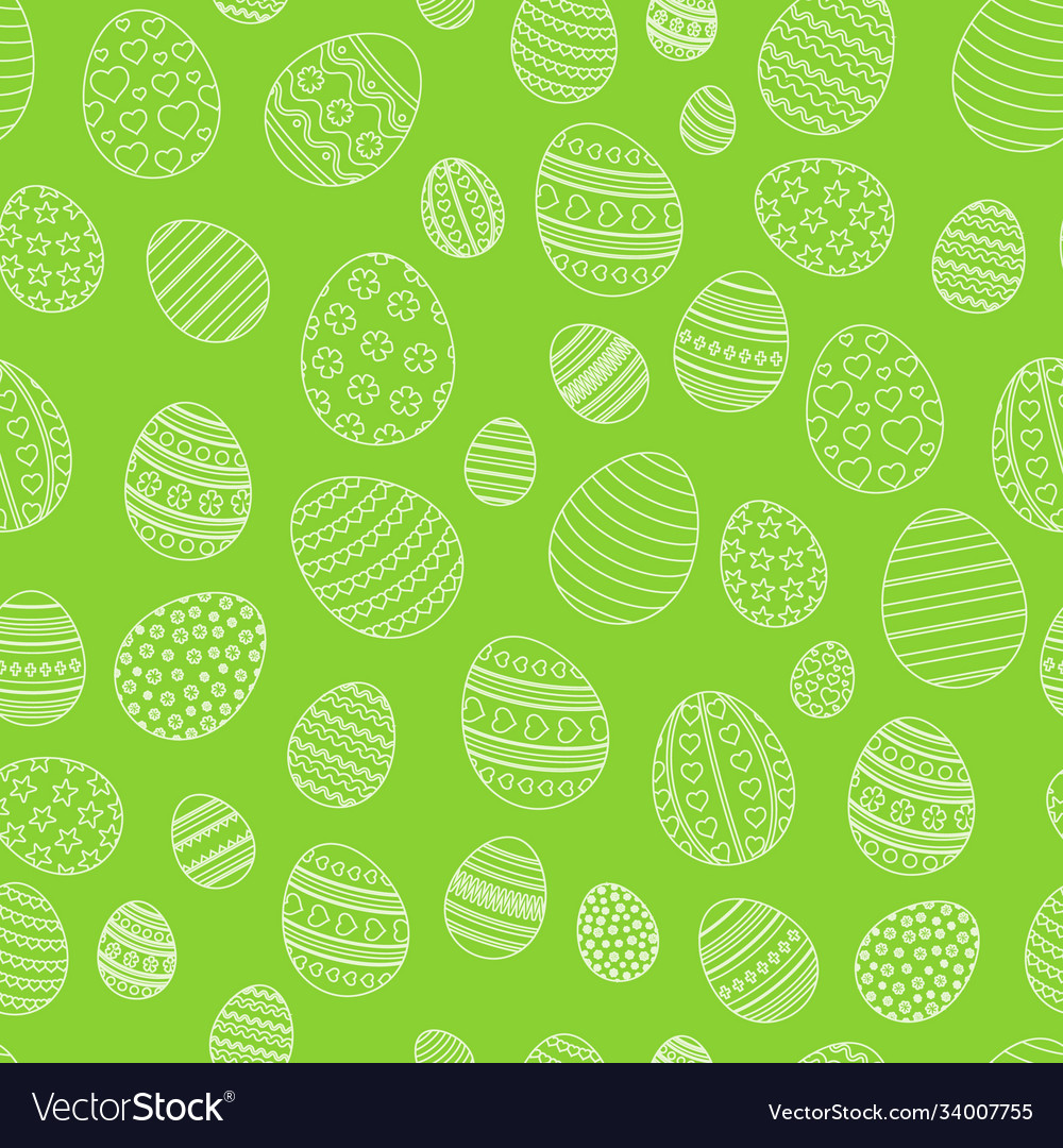 Easter seamless simple pattern christian