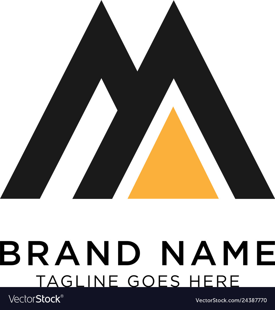 Initial m logo design inspiration