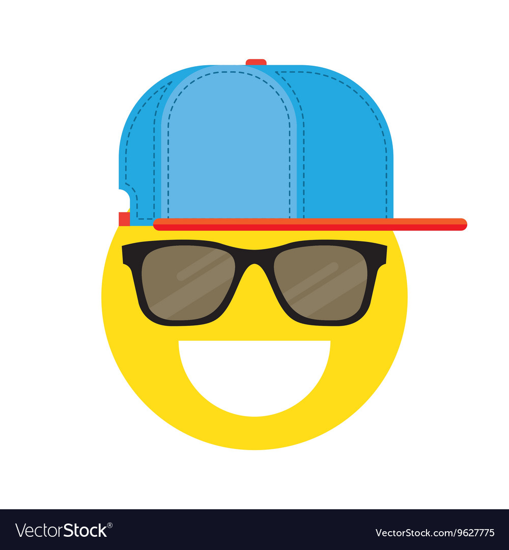 Smiley Emoticons Face vector image