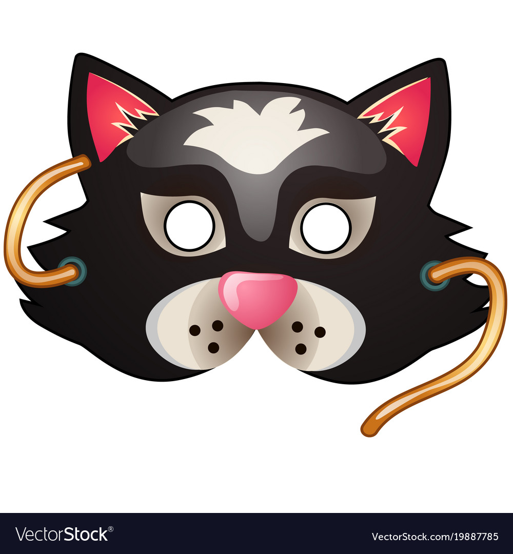 Cat mask carnival and masquerade accessories