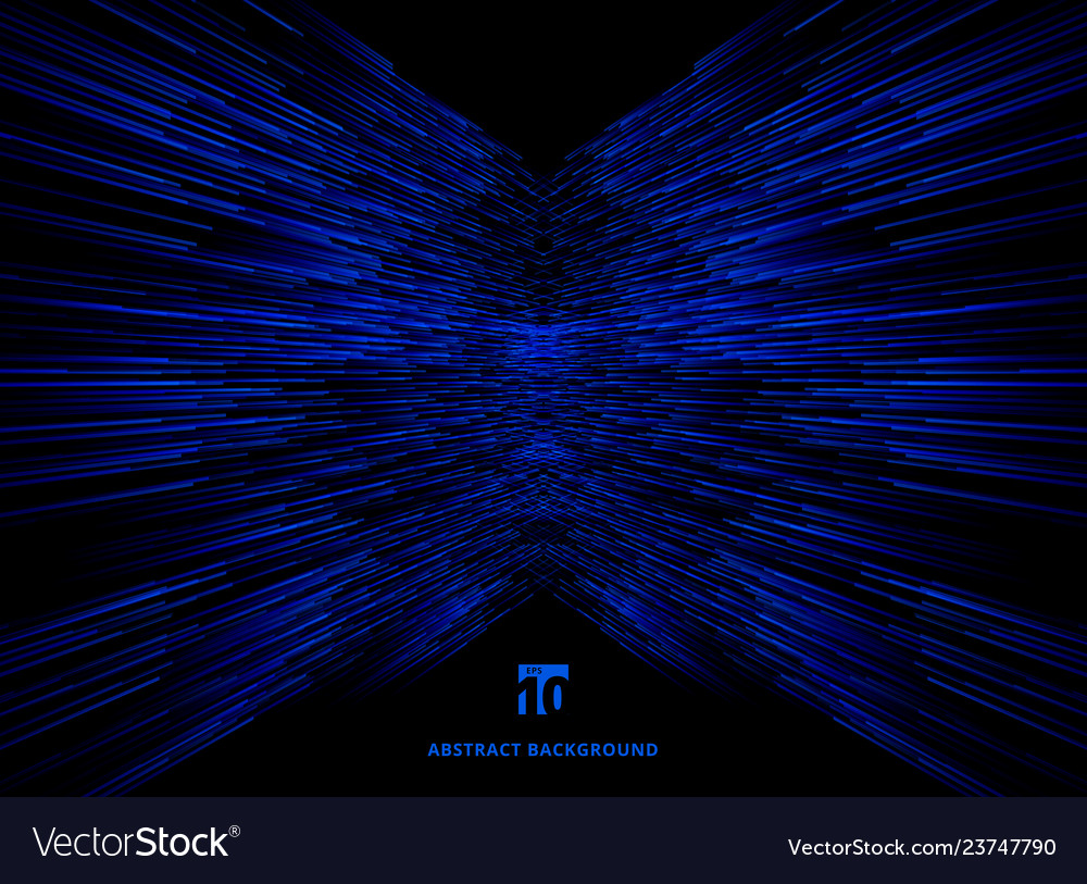 Abstract technology data connection speed blue