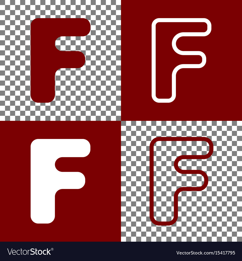 Letter f sign design template element royalty free vector letter f sign design template element vector image maxwellsz