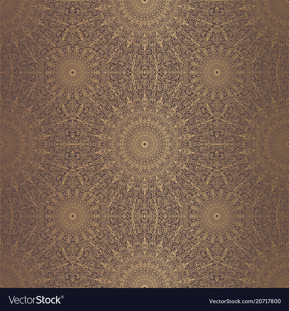 Mandala design element vector image