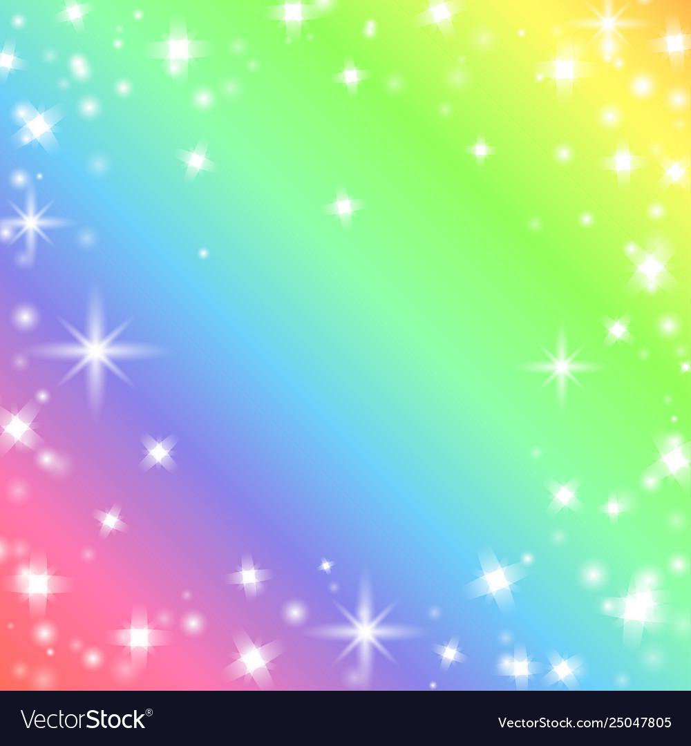 Funny rainbow background