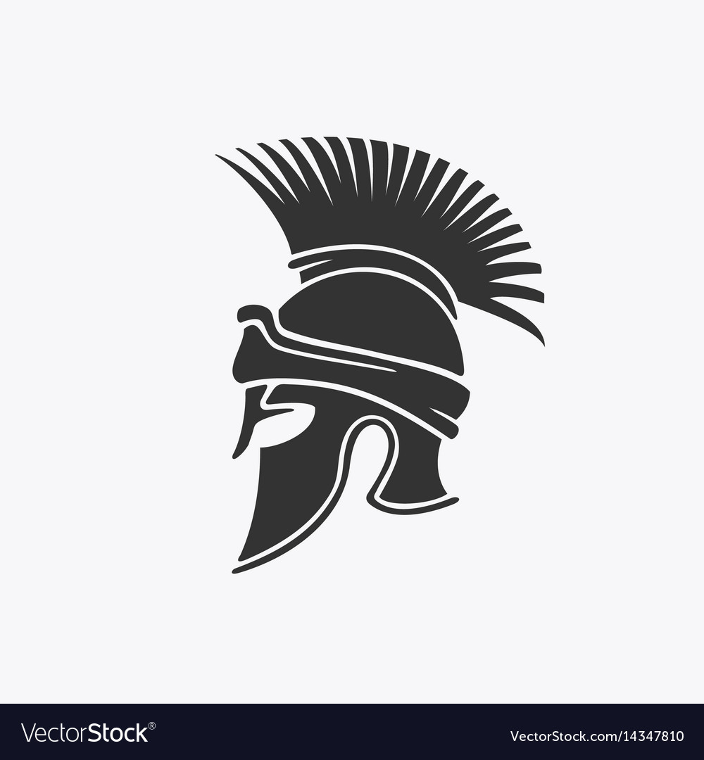 Ancient military helmet