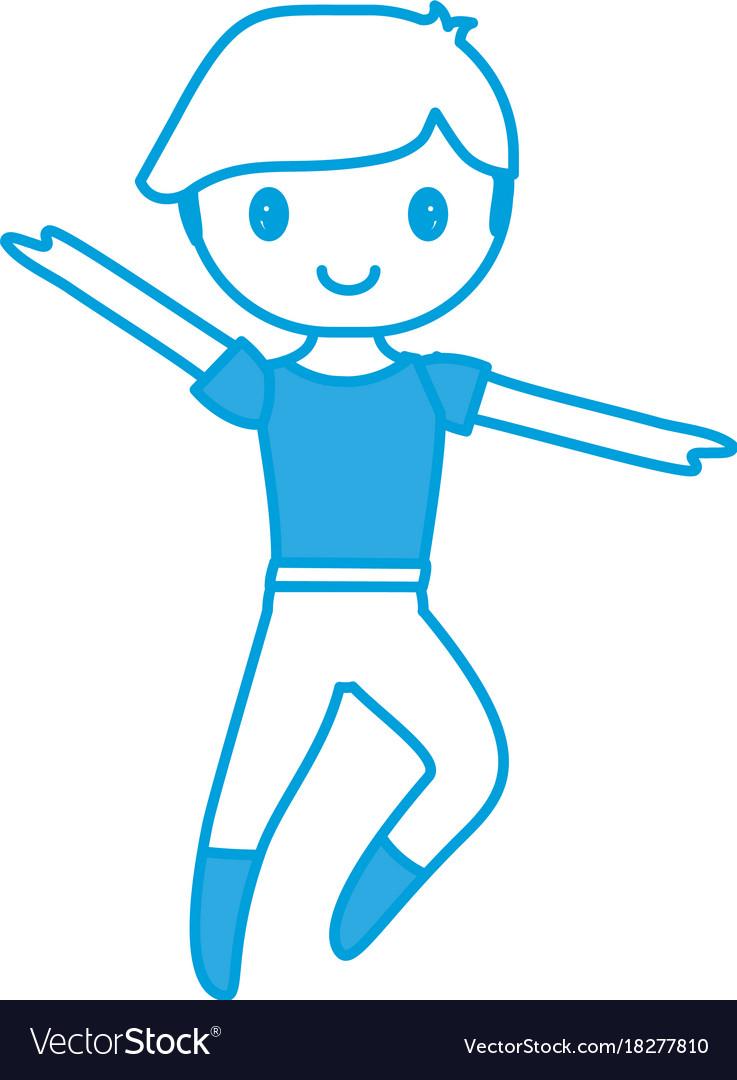 Ballet dancer boy icon