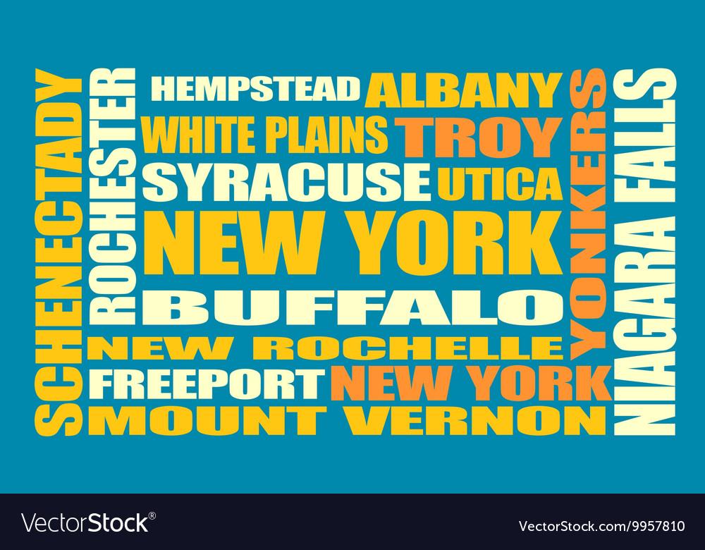 New York state cities list