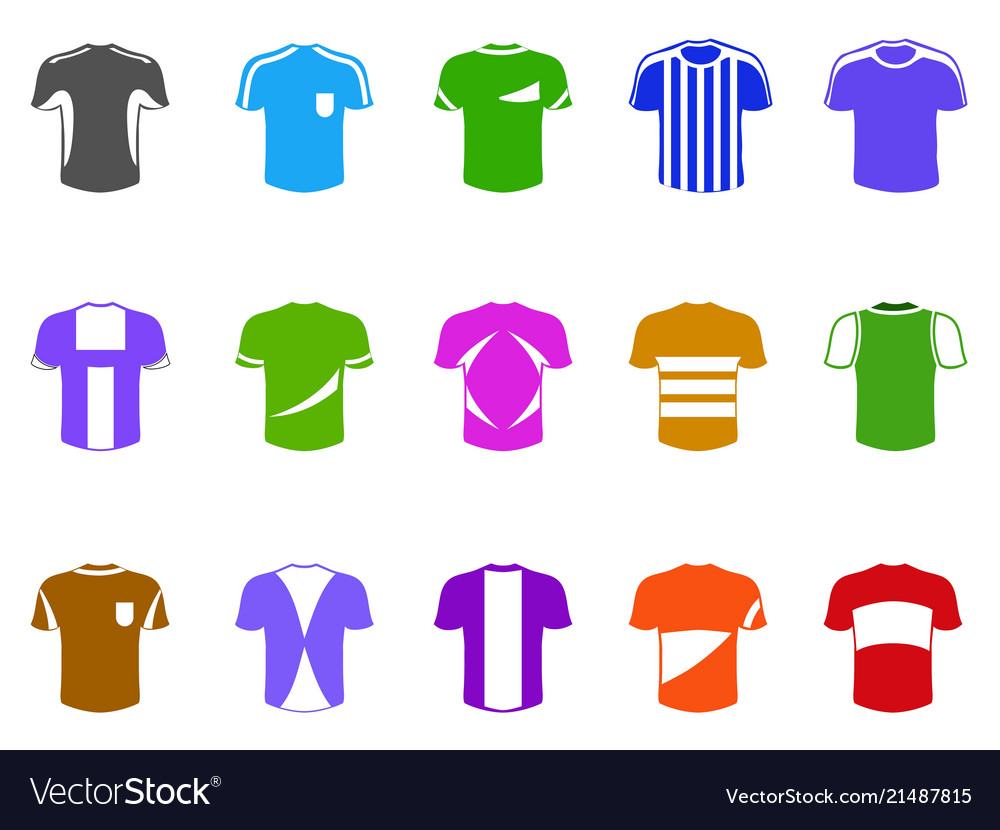 Color t-shirt icon