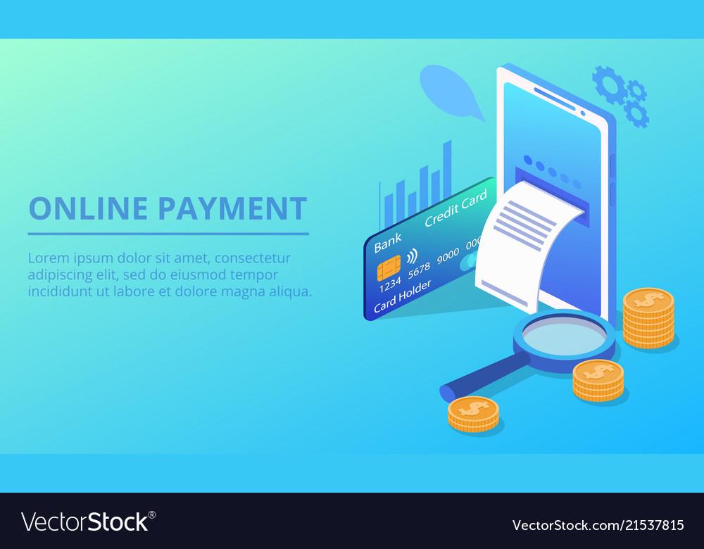 Online smartphone payment