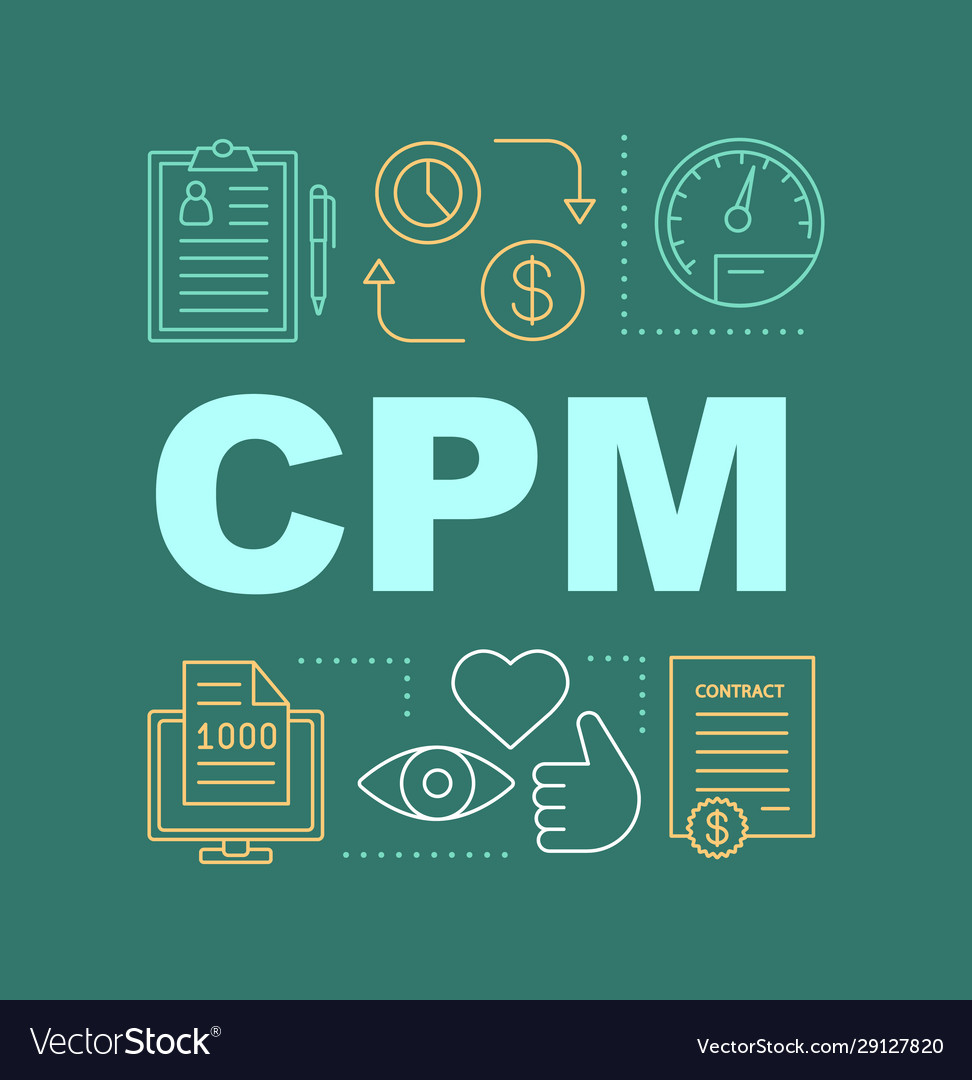 Cpm word concepts banner
