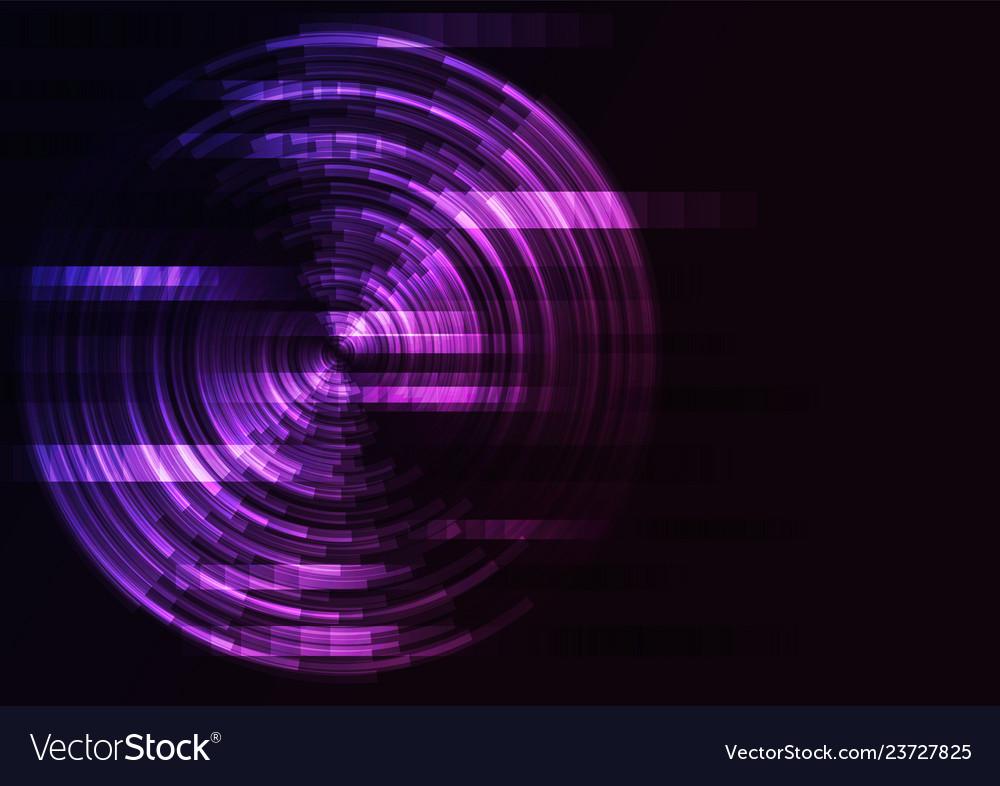 Circle digital abstract sheet layer background