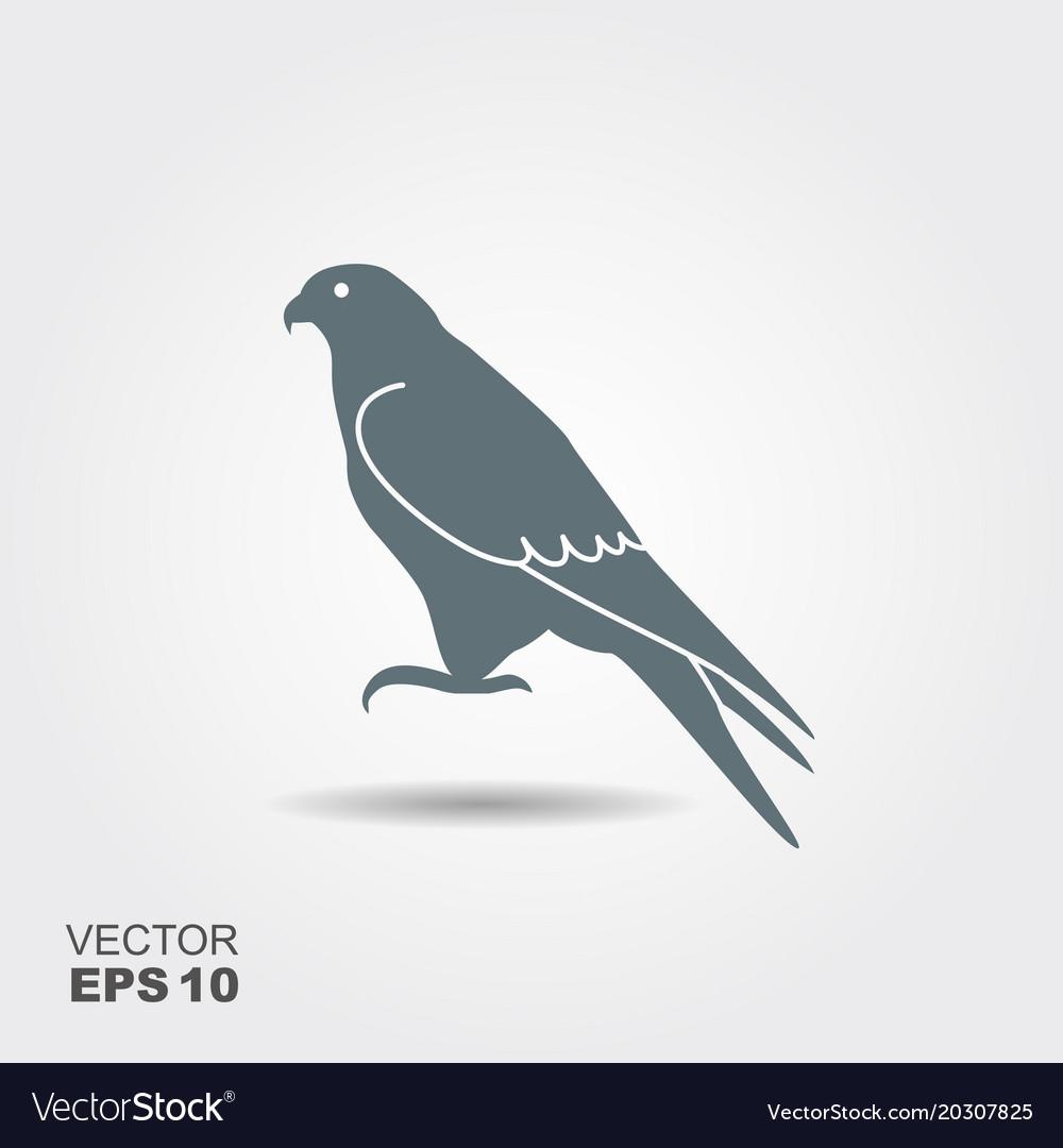 Falcon icon vector image