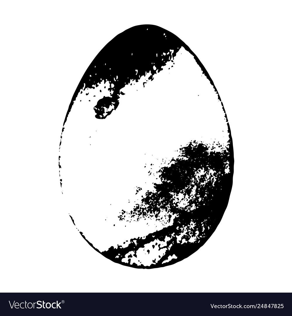 Grunge egg background