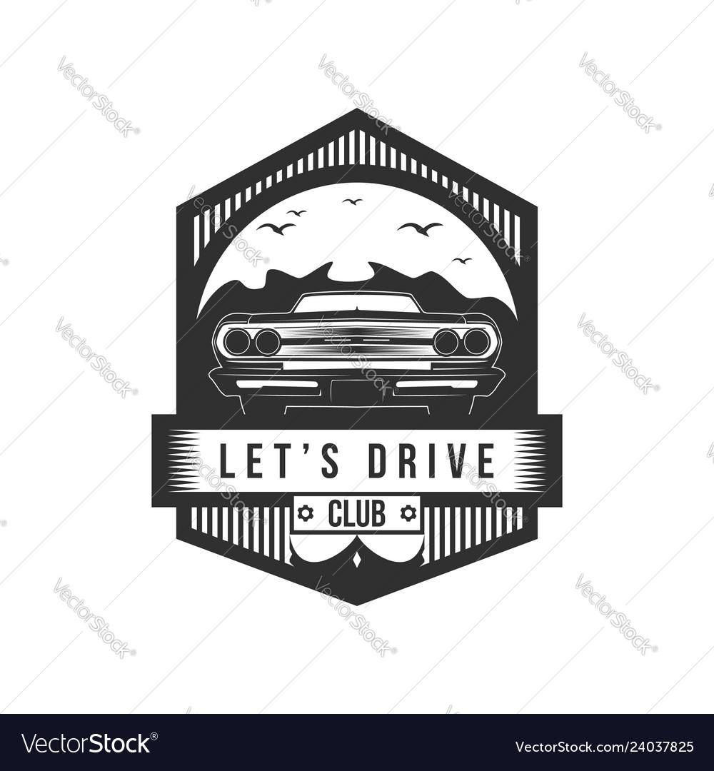 Lets drive club badge