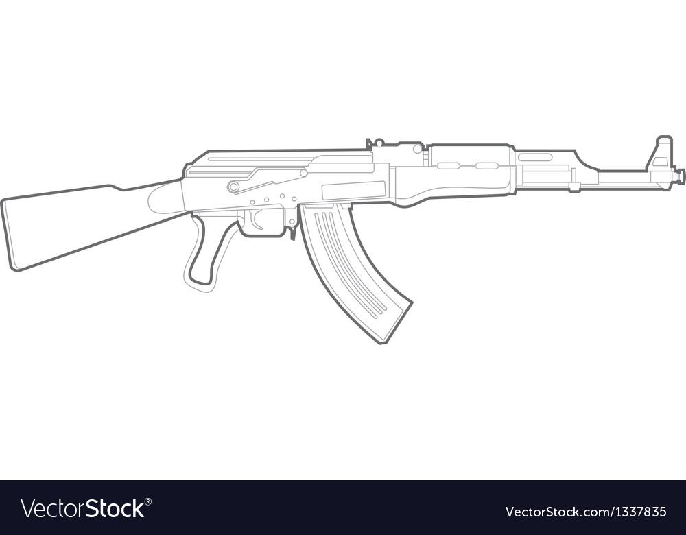 AK47 silhouette